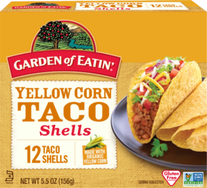 GOE Yellow Taco Shells