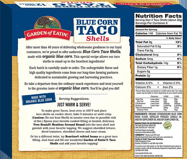Blue Taco Shells