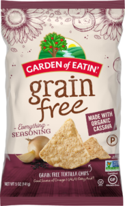 Grain Free Everything Chips - Ingredients and Nutrition Information