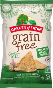Grain Free Garlic Dill Chips - Ingredients and Nutrition Information
