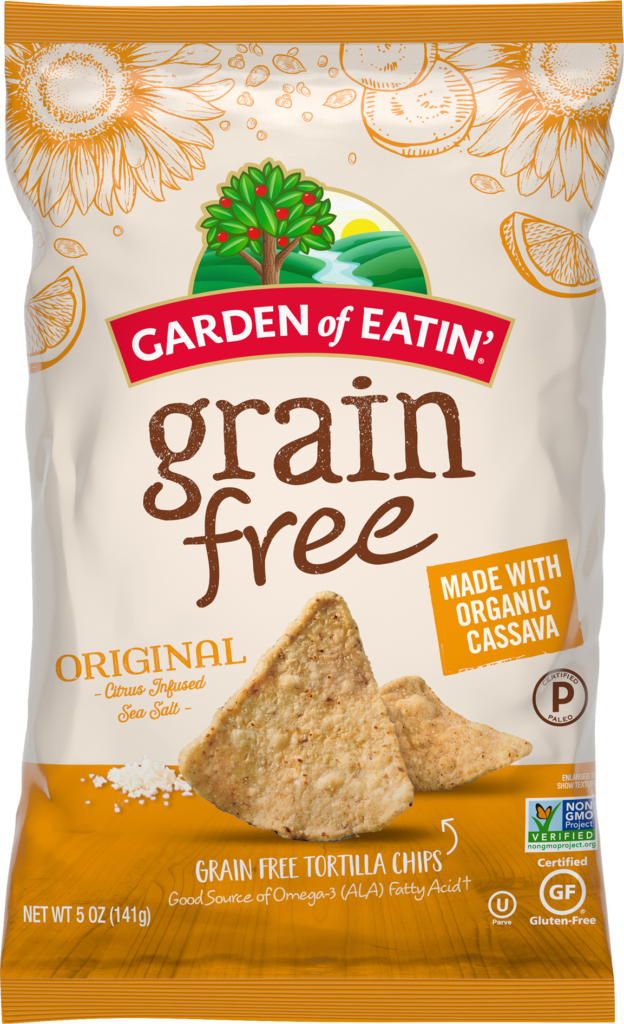 Grain Free Sea Salt Chips - Ingredients and Nutrition Information