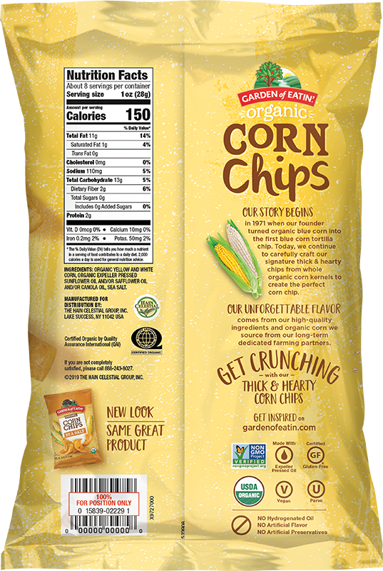 Corn Chips with Sea Salt