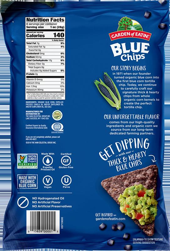 Blue Corn Tortilla Chips