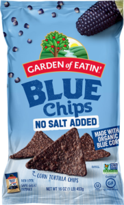 Garden of Eatin' Blue Corn Chips - No Salt Added