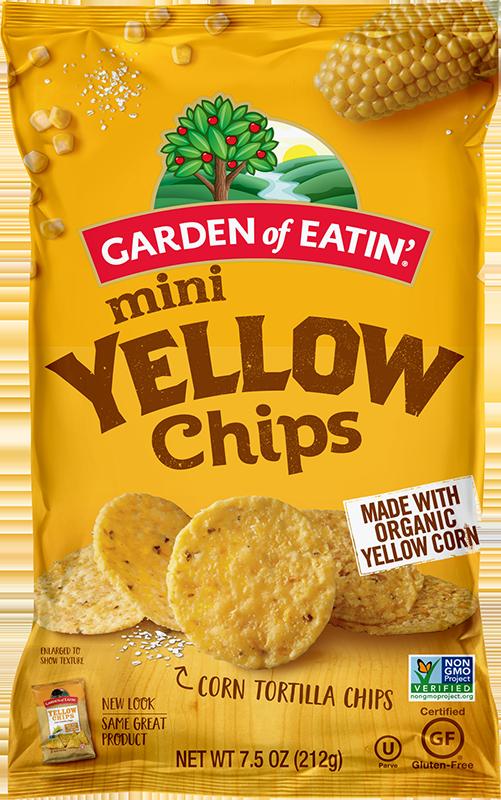 Garden of Eatin' Mini Yellow Chips