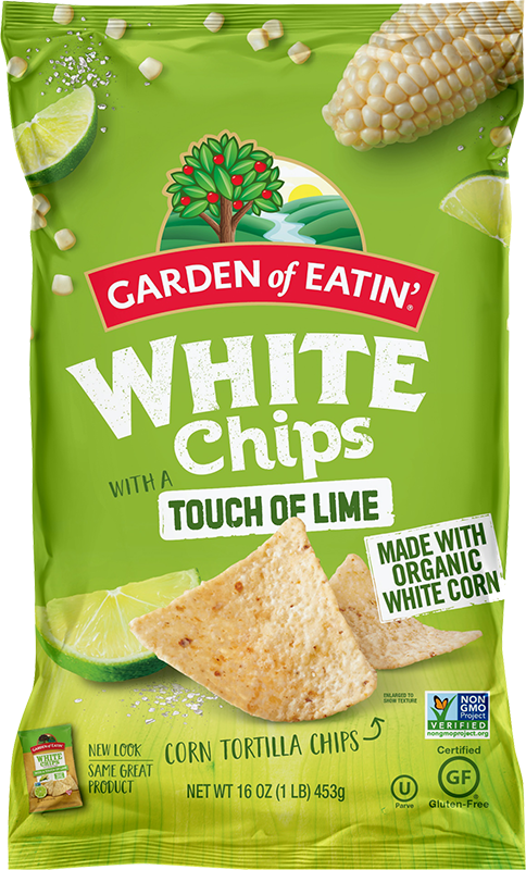 Garden of Eatin' White Chips with a Touch of Lime