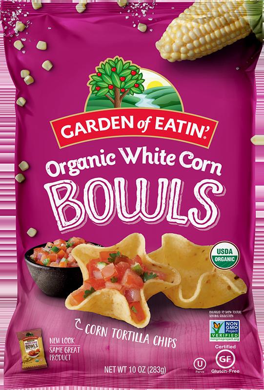Garden of Eatin' White Bowls