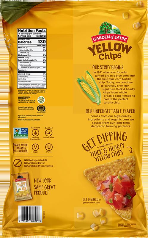 Yellow Corn Tortilla Chips