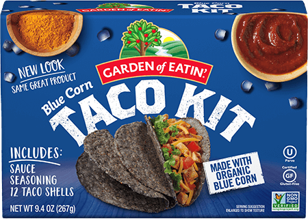 Blue Corn Taco Dinner Kit Garden Of Eatin