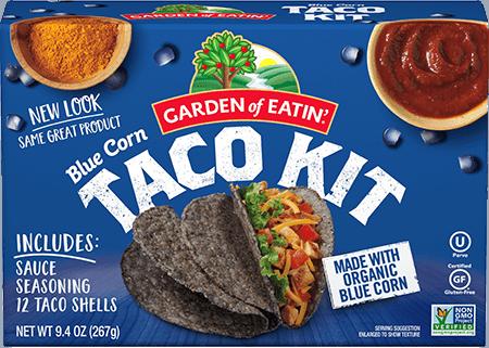 Blue Corn Taco Dinner Kit Garden Of Eatin