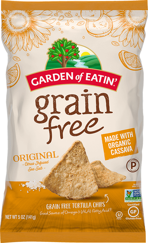 Garden of Eatin' Grain Free Tortilla Chips with Citrus Infused Sea Salt
