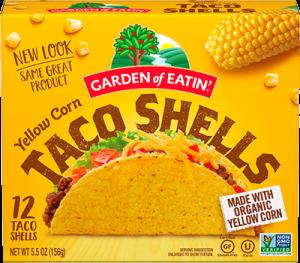 Yellow Corn Taco Shells
